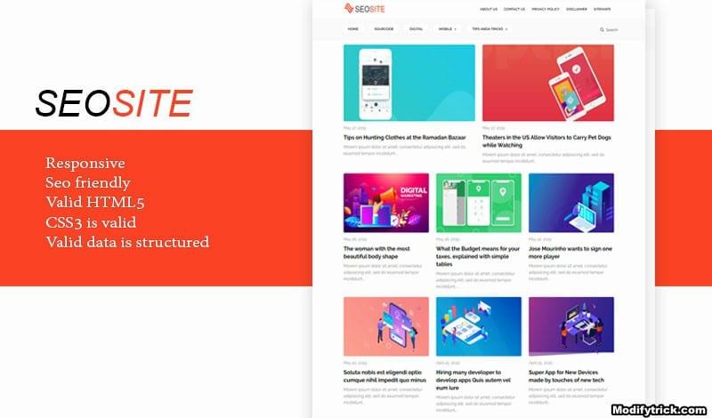 seo site theme